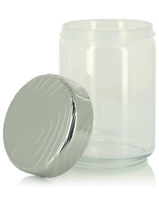 Dose aus Glas und Stahl PU05/100 Veneer - 15,8 cm ALESSI