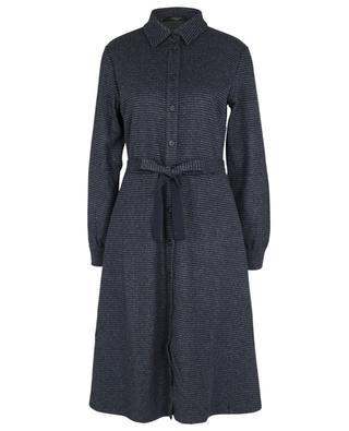 Robe chemise en flanelle à carreaux Danila WEEKEND MAX MARA