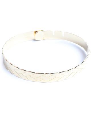 Camelia gold tone bracelet UN CHIC FOU