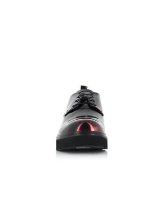 Patent leather derby shoes FRU.IT