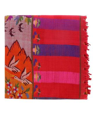 Kani Jamawar cashmere scarf EXQUISISTE BY PINK MAHARANI