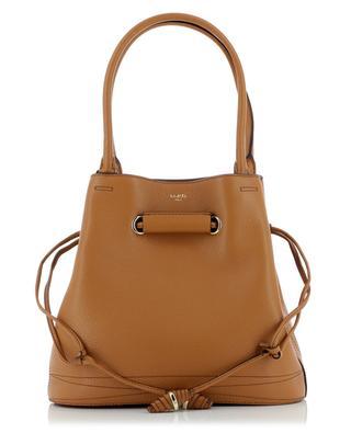Le Huit Medium grained leather bucket tote bag LANCEL