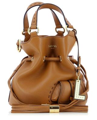 Premier Flirt Small  grained leather bucket bag LANCEL