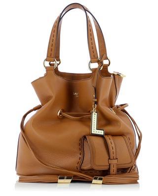 Bucket-Tasche aus genarbtem Leder Premier Flirt Medium LANCEL