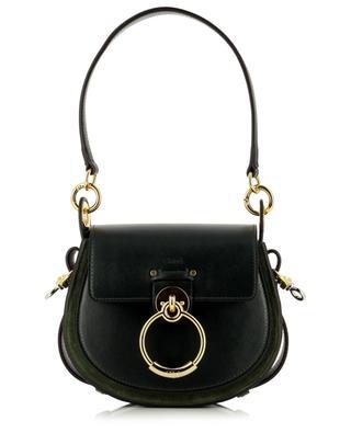 Petit sac porté épaule en cuir lisse et daim Tess CHLOE