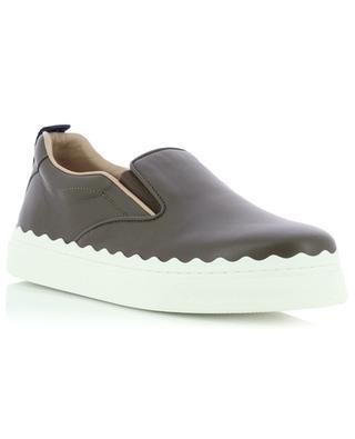Slip-on-Sneakers aus Leder Lauren CHLOE