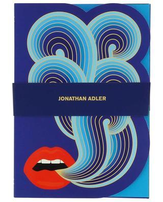 Die-Cut Lips notebook JONATHAN ADLER