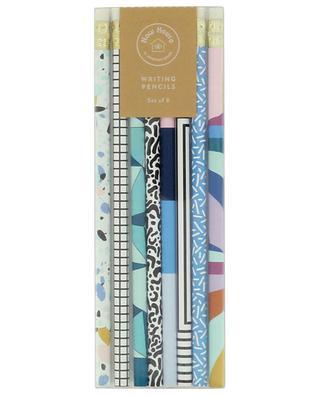 Writing set of eight pencils JONATHAN ADLER