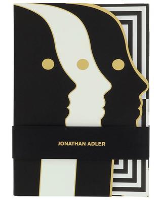 Notizbuch mit Gesichter-Motiv Atlas JONATHAN ADLER