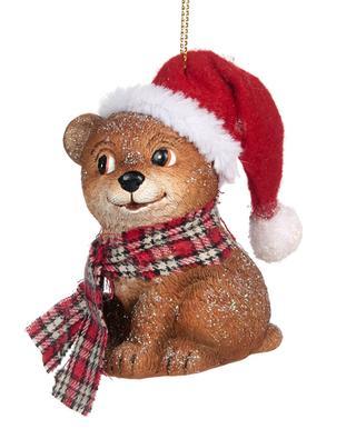 Ornement de Noël à suspendre Ourson GOODWILL