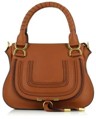 Marcie Small suede and smooth leather double carry bag CHLOE