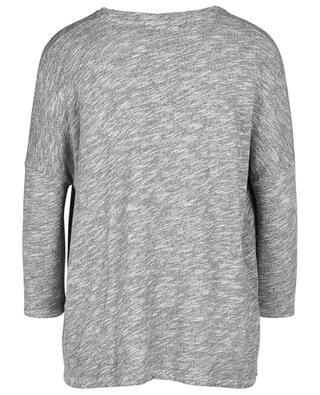 Meliertes Sweatshirt mit Dreiviertelärmeln Jaitown AMERICAN VINTAGE