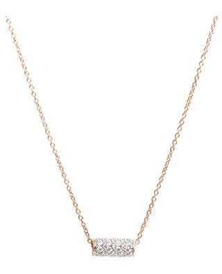 Halskette aus Gold und Diamanten Straw Diamond GINETTE NY