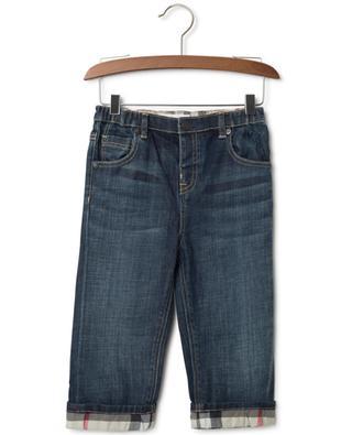Cotton blend jeans BURBERRY