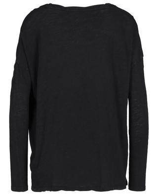 Bikistate oversized long-sleeve slub jersey T-shirt AMERICAN VINTAGE