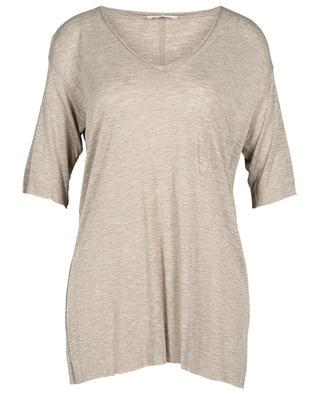 Cozistreet slub jersey V-neck T-shirt AMERICAN VINTAGE