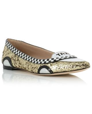 Go leather and glitter flats KATE SPADE