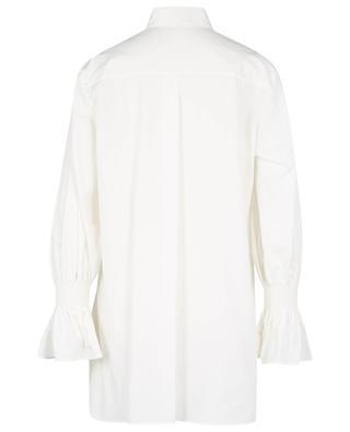 Bell sleeve cotton poplin blouse AKRIS PUNTO