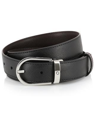 Saffiano leather reversible belt MONTBLANC