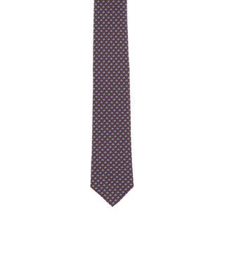Krawatte mit Schnecken-Print ATELIER BG