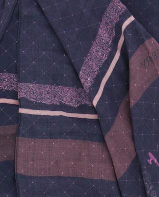 Modal printed scarf SASHA BERRY