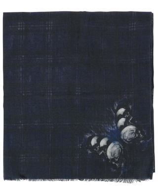 Foulard en laine et soie SASHA BERRY