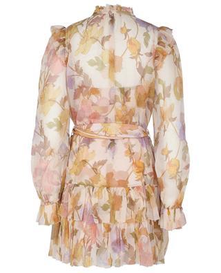 Mini robe en mousseline fleurie Tempo Tiered Frill ZIMMERMANN
