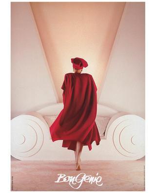Affiche La Femme en Rouge BonGénie BONGENIE GRIEDER