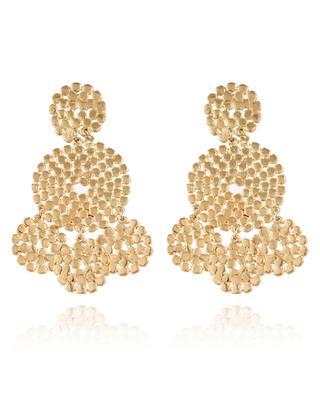 Goldene Ohrringe Lucky Sequin GAS BIJOUX