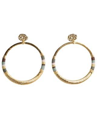 Boucles d'oreilles dorées Mimi Macao GAS BIJOUX