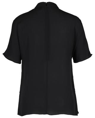 Short-sleeved silk top with pleat detail 3.1 PHILIPP LIM