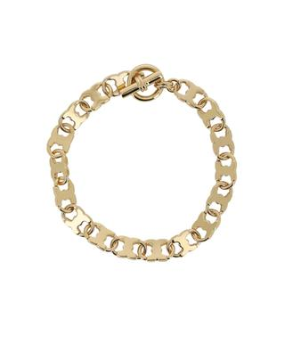 Gemini gold-plated brass bracelet TORY BURCH