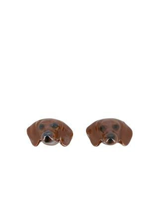 Dachshund earrings AND MARY