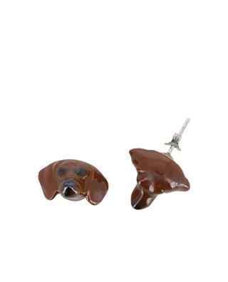 Boucles d'oreilles Dachshund AND MARY