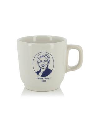 Hillary Clinton ceramic mug FISHS EDDY