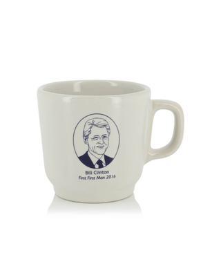 Bill Clinton ceramic mug FISHS EDDY