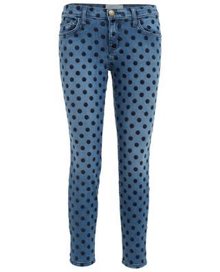Stretch-Jeans mit Punktemuster The Stiletto CURRENT ELLIOTT