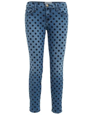 The Stiletto stretchy jeans with polka dots CURRENT ELLIOTT