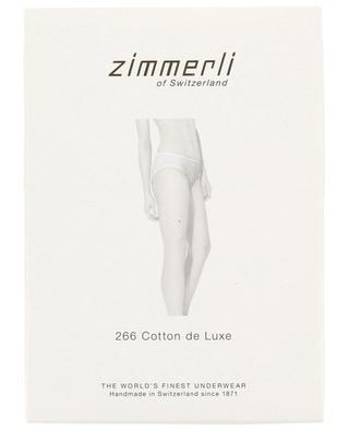 Culotte en coton 266 Cotton de Luxe ZIMMERLI