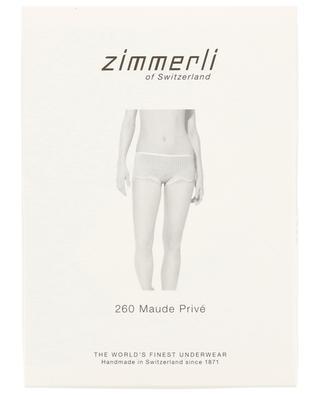 Höschen aus Baumwolle und Spitze 260 Maude Privé ZIMMERLI