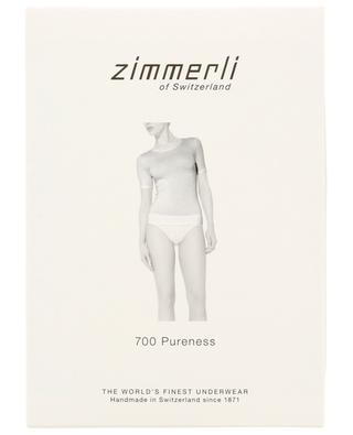 T-shirt en modal mélangé 700 Pureness ZIMMERLI