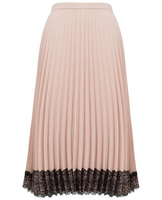 Pleated crepe skirt RED VALENTINO