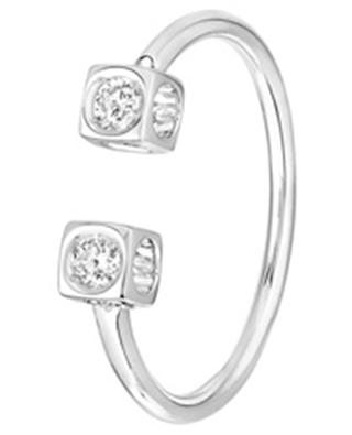 Bague en or blanc Le Cube Diamant DINH VAN