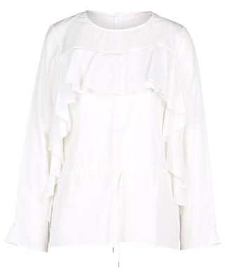 Ruffled cotton blouse SEE BY CHLOE