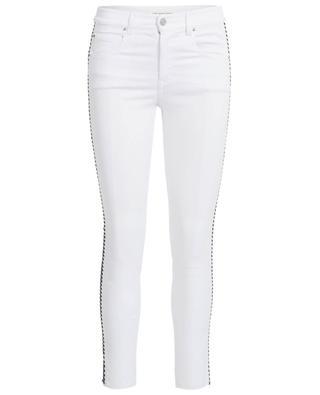 Slim-Fit-Jeans aus Baumwollstretch mit Seitenstreifen ISABEL MARANT
