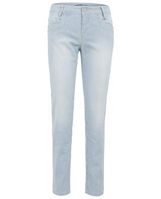 Gestreifte Slim Jeans RAFFAELLO ROSSI