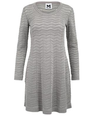 Short sleeve stretchy dress M MISSONI