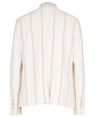 Jersey blazer with golden stripes BRUNELLO CUCINELLI