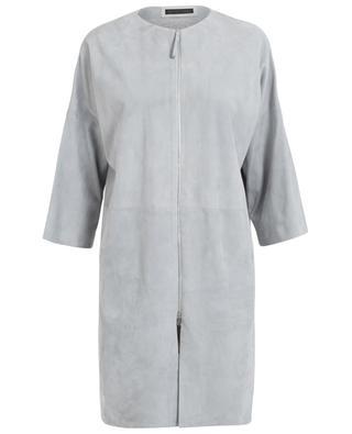 Suede coat FABIANA FILIPPI