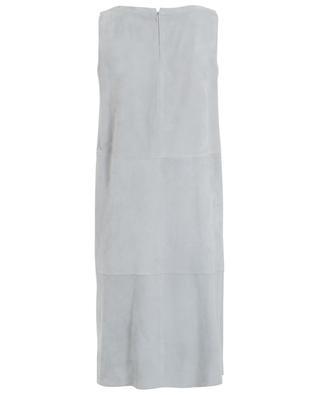 Sleeveless suede dress FABIANA FILIPPI